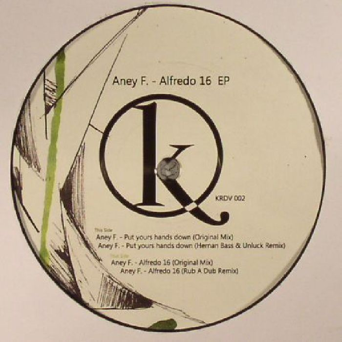 ANEY F - Alfredo 16 EP