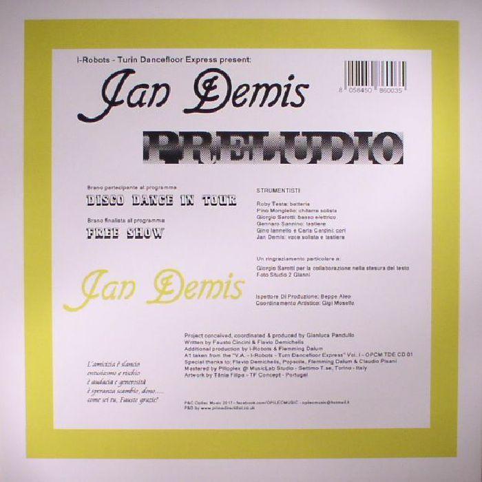 DEMIS, Jan - Preludio (Record Store Day 2017)