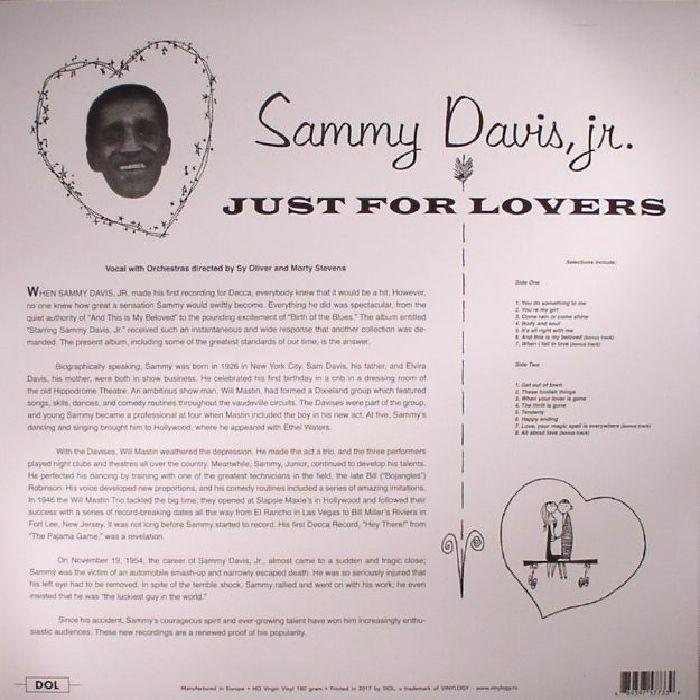 DAVIS JR, Sammy - Just For Lovers