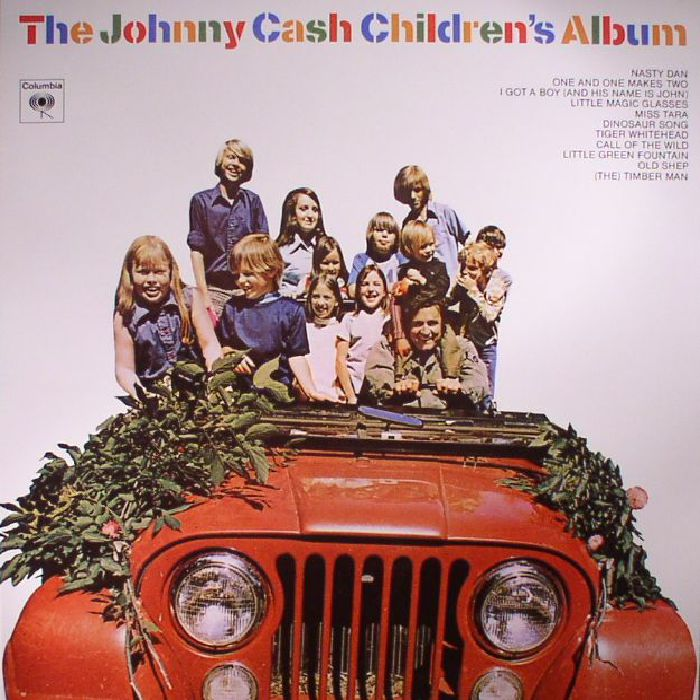 CASH, Johnny - The Johnny Cash Children's Album (Record Store Day 2017)