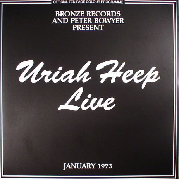 Uriah Heep Live 73 Record Store Day 2017 Vinyl At Juno