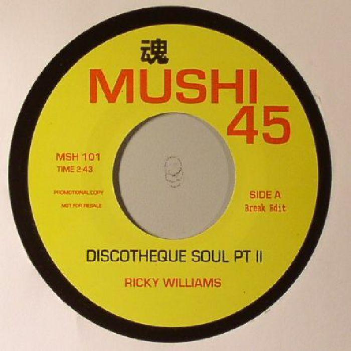 WILLIAMS, Ricky/LES BAXTER - Discotheque Soul Part II (Break Edit)