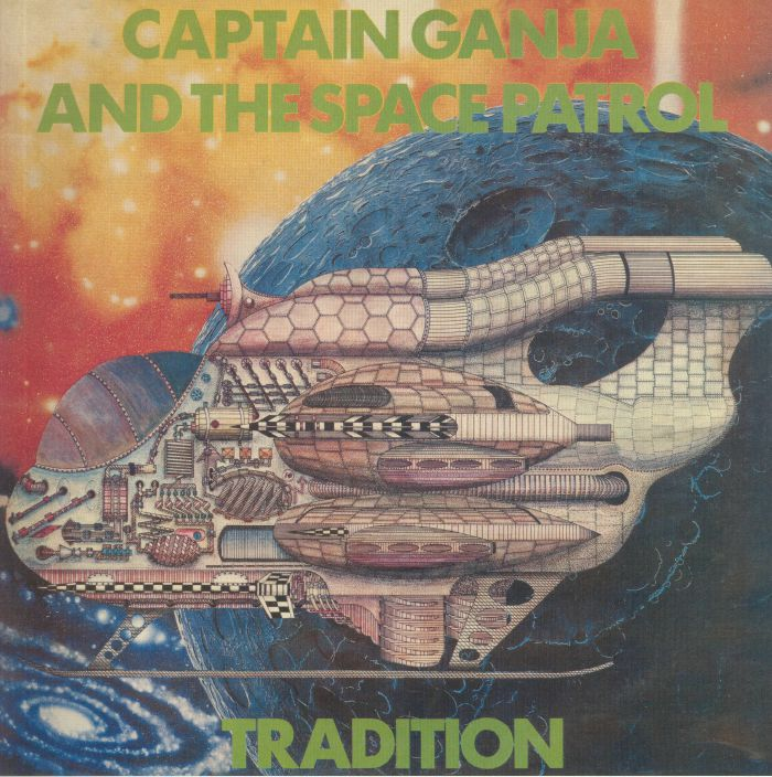 CAPTAIN GANJA & THE SPACE PATROL Tradition (reissue) vinyl at