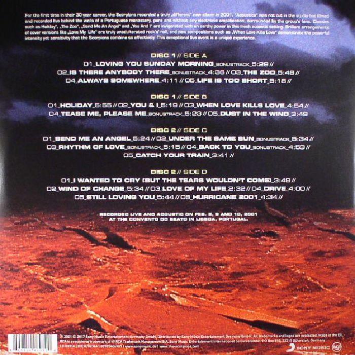 Scorpions Acoustica Vinyl At Juno Records