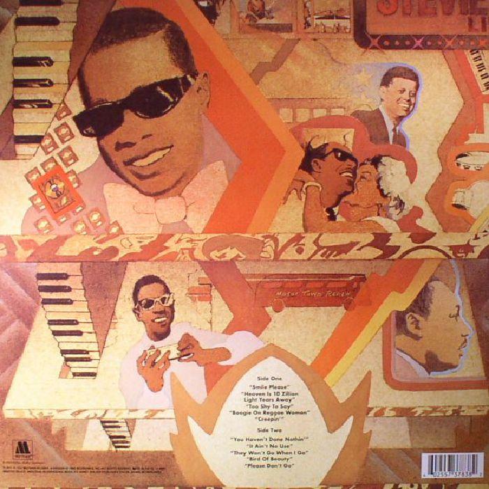Stevie Wonder Fulfillingness First Finale Reissue Vinyl