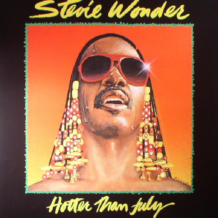 WONDER, Stevie - Hotter Than July (reissue)