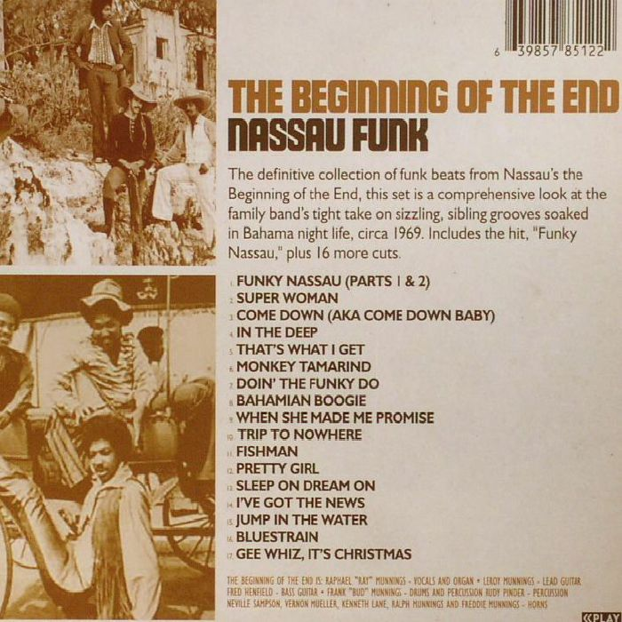 BEGINNING OF THE END, The - Nassau Funk