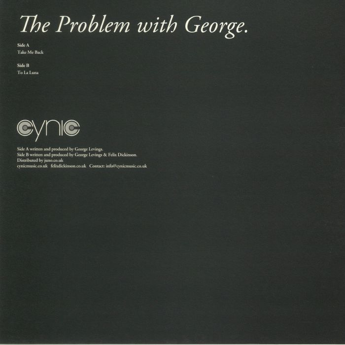 THE PROBLEM WITH GEORGE - The Problem With George