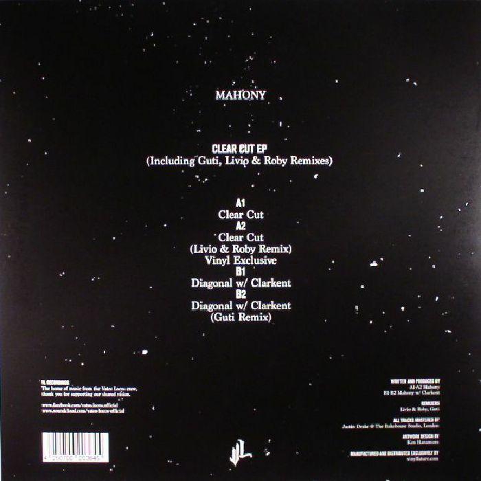 MAHONY - Clear Cut EP