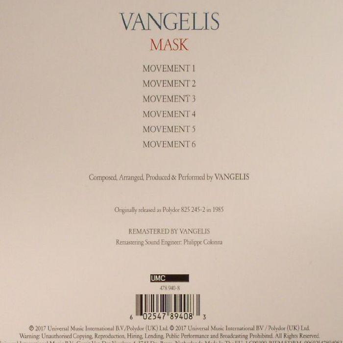 VANGELIS - Mask (remastered)
