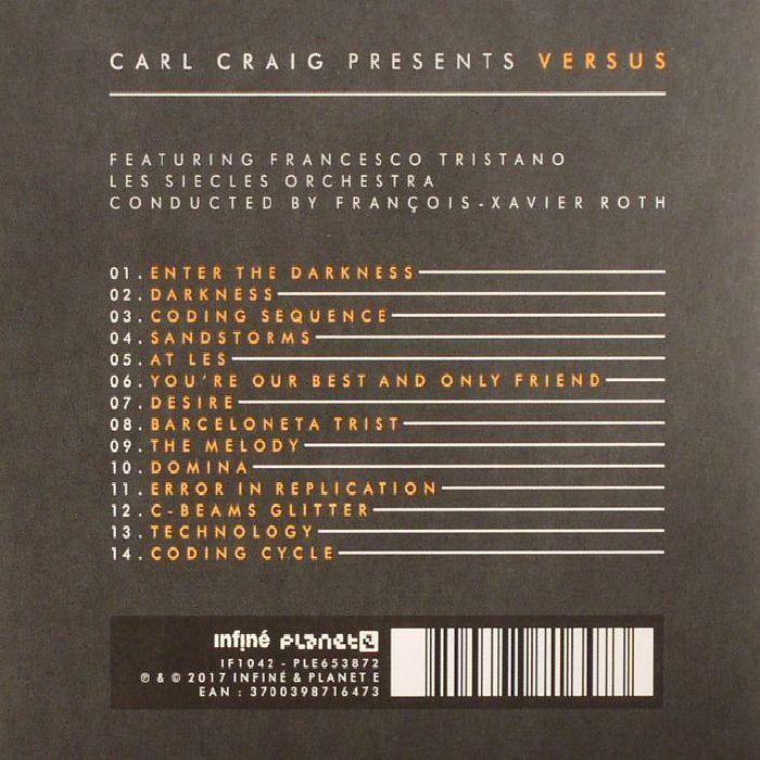 CRAIG, Carl - Versus