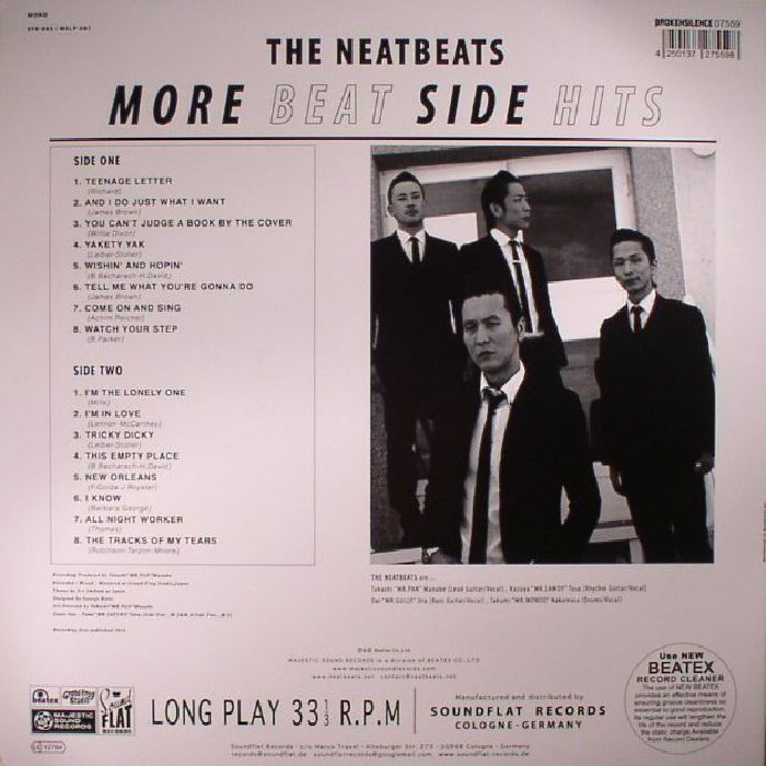 The Neatbeats More Beat Side Hits Vinyl At Juno Records