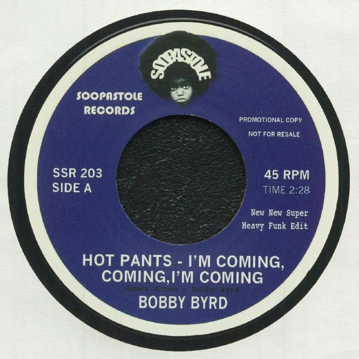 BOBBY BYRD/LYN COLLINS - Hot Pants: I'm Coming Coming I'm Coming
