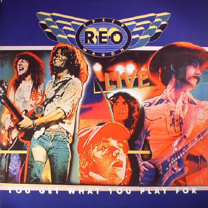 Reo Speedwagon You Get What You Play For Reissue Vinyl