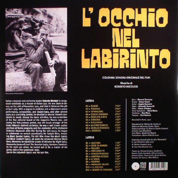 NICOLOSI, Roberto - L'Occhio Nel Labirinto (Eye In The Labyrinth) (Soundtrack)