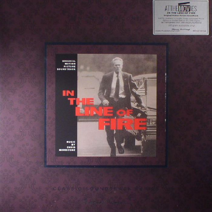 MORRICONE, Ennio - In The Line Of Fire (Soundtrack) (reissue)