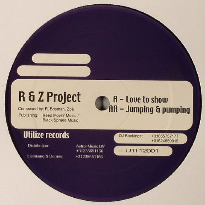 R&Z PROJECT - Love To Show
