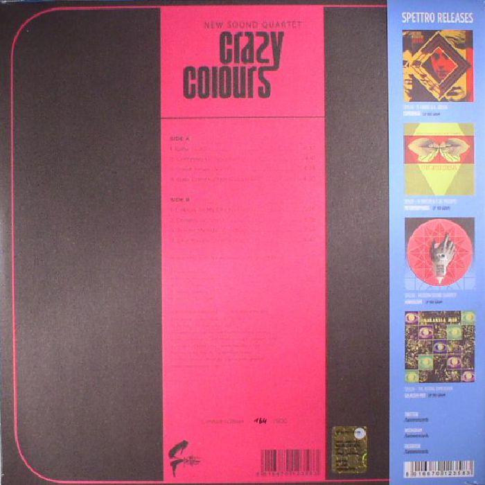 NEW SOUND QUARTET - Crazy Colours (reissue)