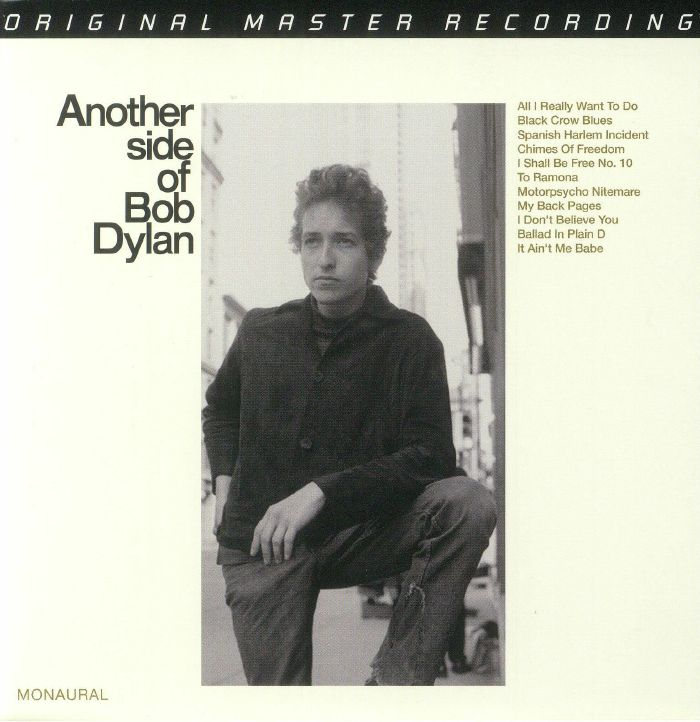 DYLAN, Bob - Another Side Of Bob Dylan (mono)