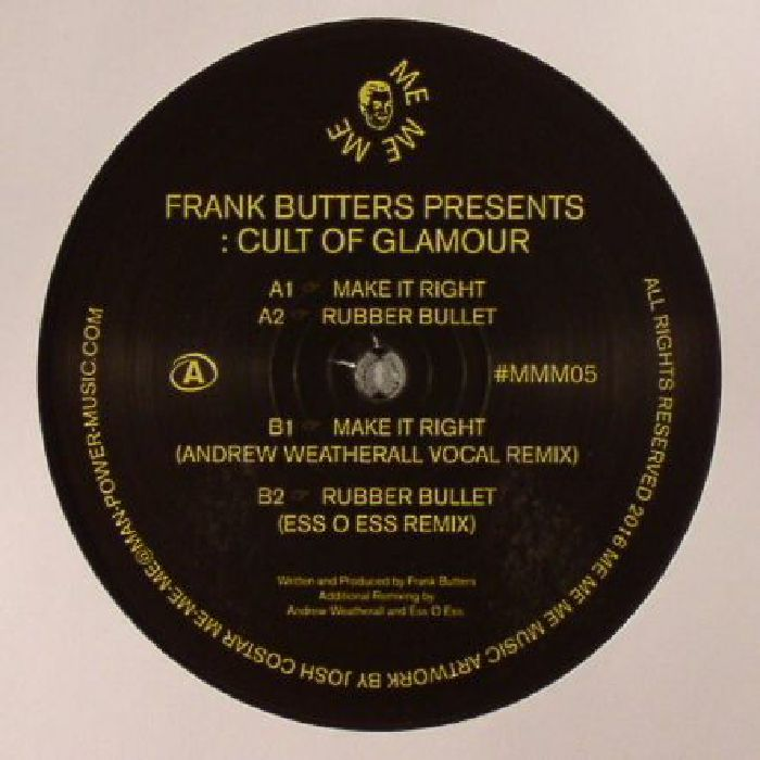 BUTTERS, Frank presents CULT OF GLAMOUR - Make It Right