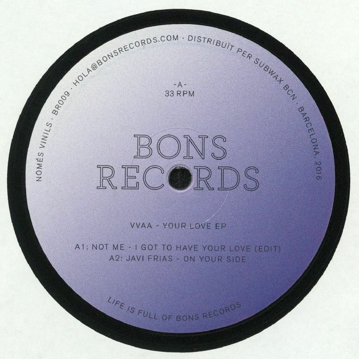 NOT ME/JAVI FRIAS/DJ BRUCE LEE/DOC L JUNIOR - Your Love EP