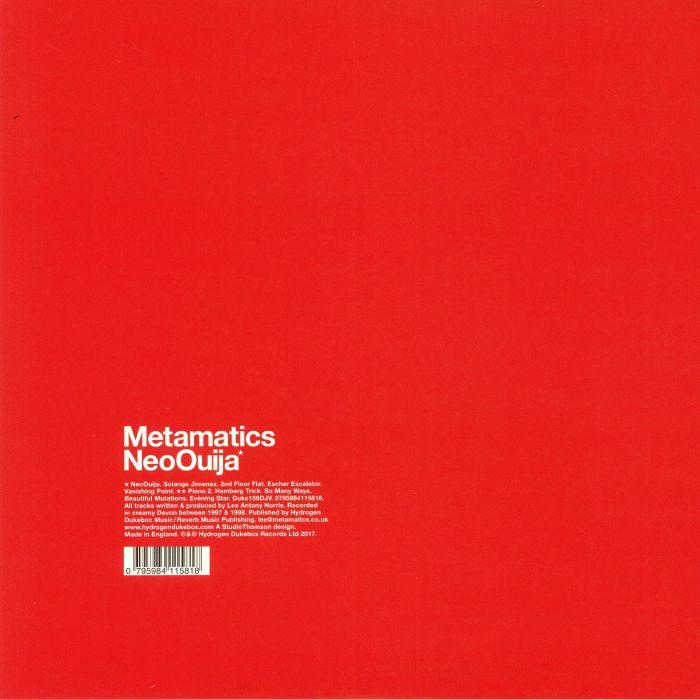 METAMATICS - Neo Ouija (reissue)