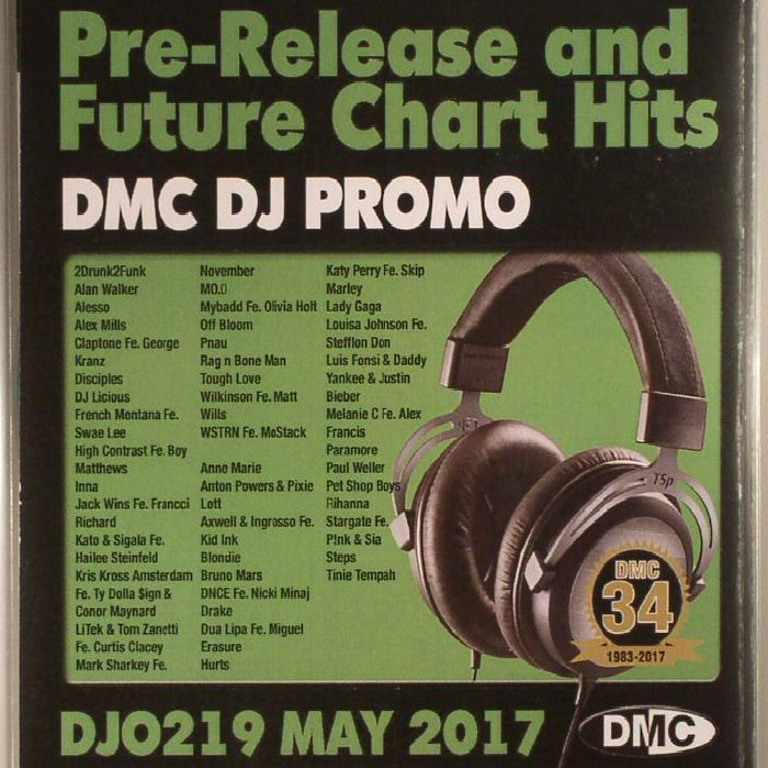 VARIOUS - DJ Promo May 2017: Pre Release & Future Chart Hits (Strictly DJ Only)