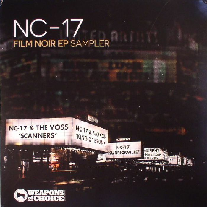 NC 17/THE VOSS/SAXXON - Film Noir EP Sampler