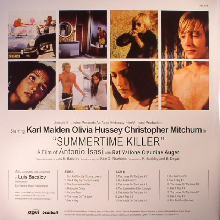BACALOV, Luis - Summertime Killer (Soundtrack)