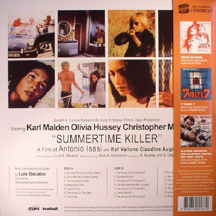 BACALOV, Luis - Summertime Killer (Soundtrack)