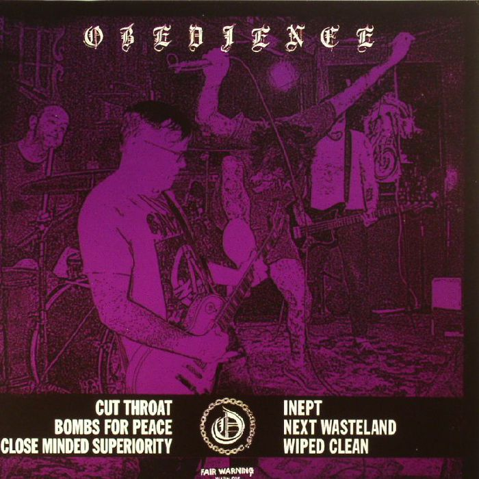 OBEDIENCE - Cut Throat