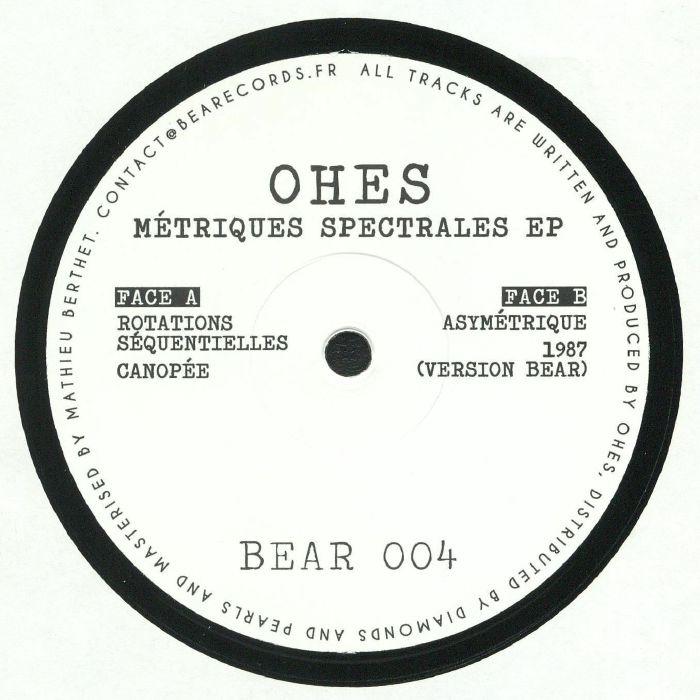 OHES - Metriques Spectrales EP