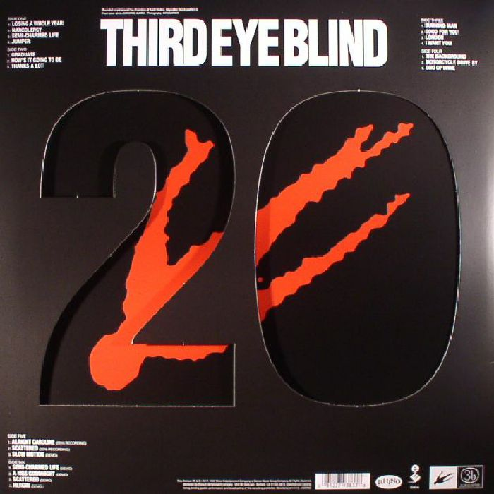 Third Eye Blind Third Eye Blind 20th Anniversary Vinyl At Juno Records