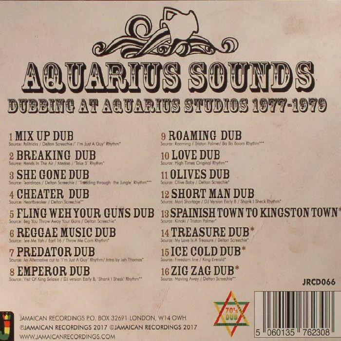 AQUARIUS SOUNDS - Dubbing At Aquarius Studios 1977-1979