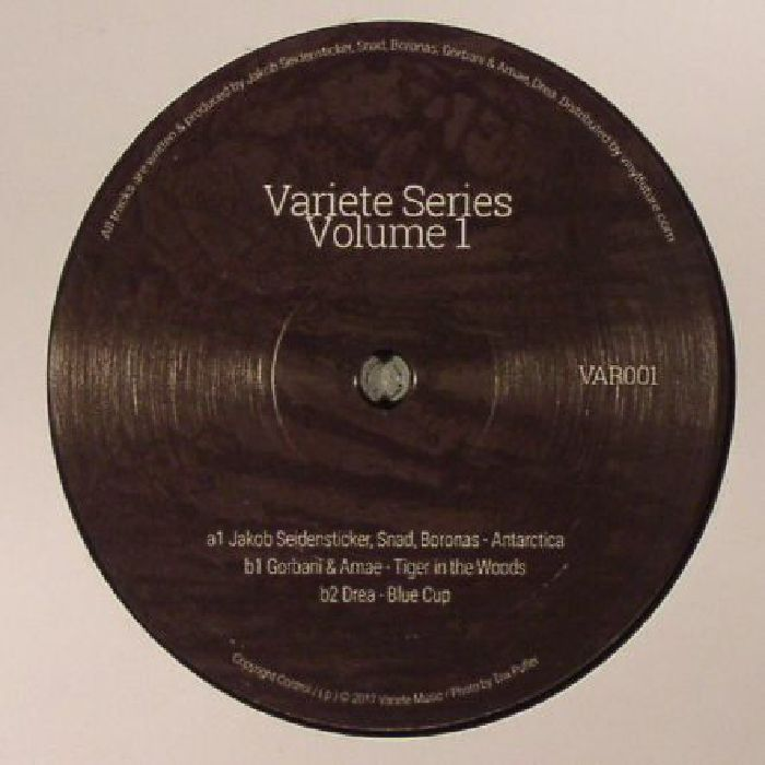 JAKOB SEIDENSTICKER/SNAD/BORONAS/GORBANI/AMAE/DREA - Variete Series Vol 1