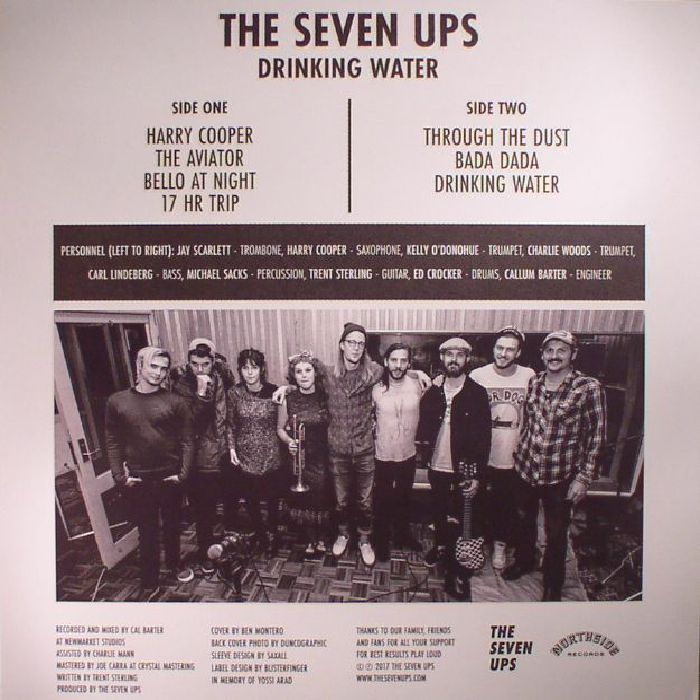 SEVEN UPS, The - Drinking Water