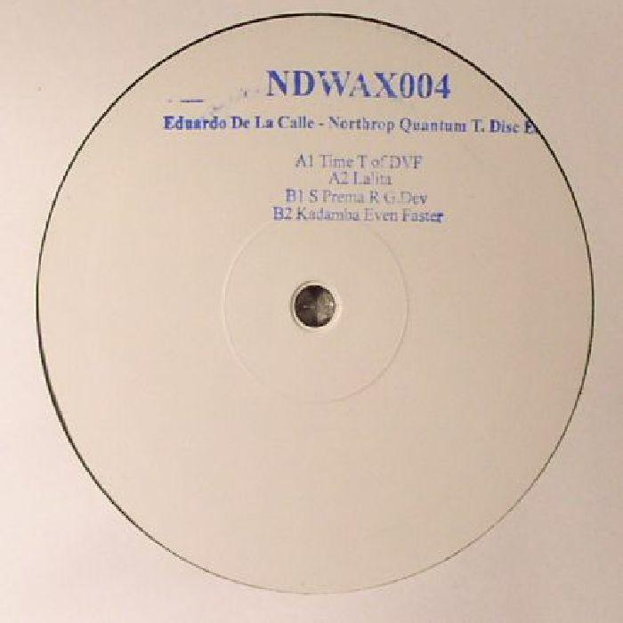 DE LA CALLE, Eduardo - Northrop Quantum T Disc EP