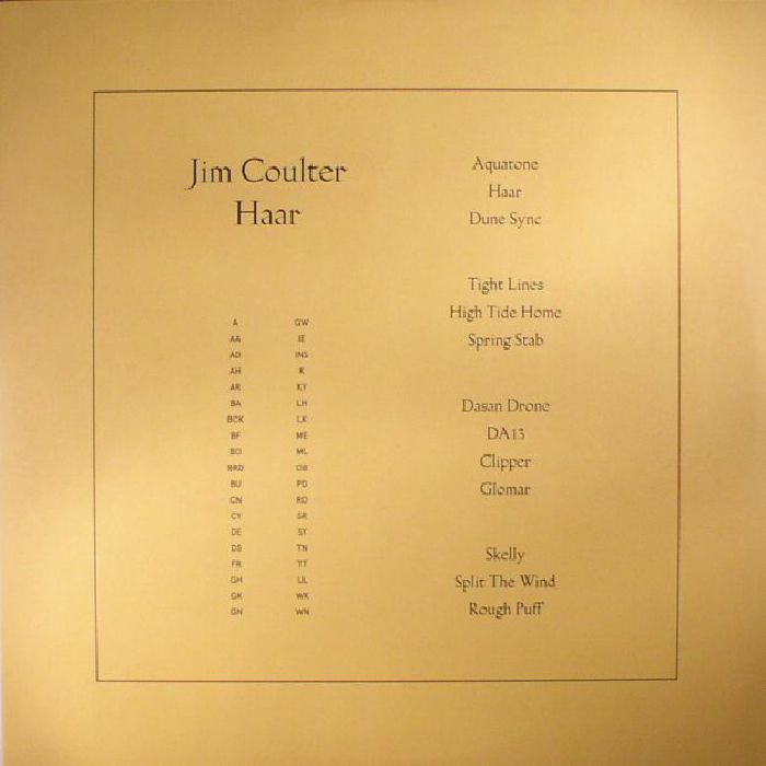 COULTER, Jim - Haar
