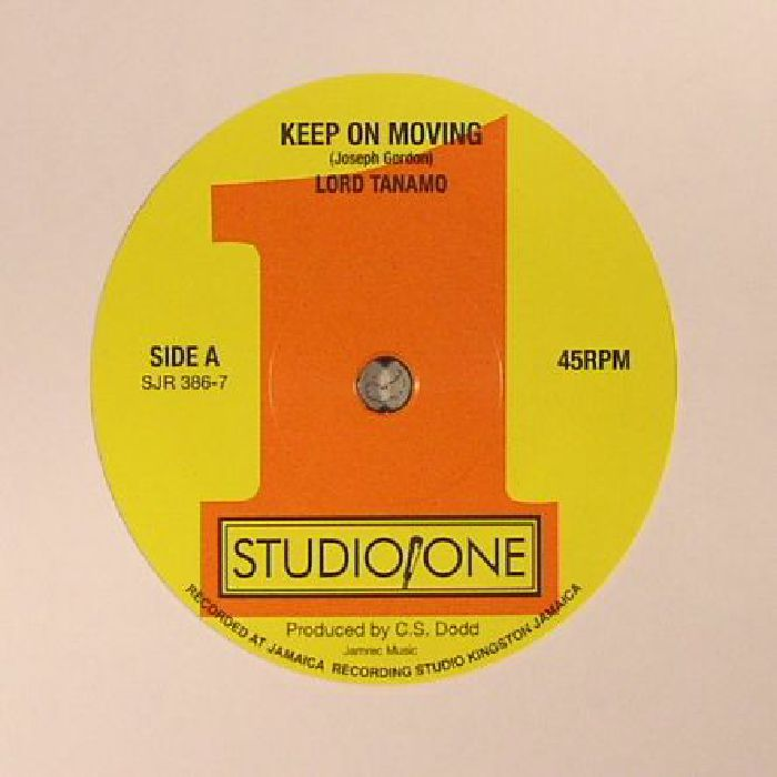 LORD TANAMO/JACKIE MITTOO - Keep On Moving