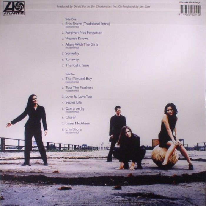 Corrs The Forgiven Not Forgotten Reissue Vinyl Lp