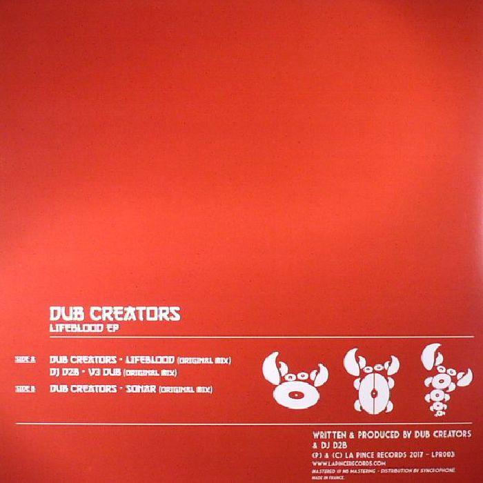 DUB CREATORS - Lifeblood EP