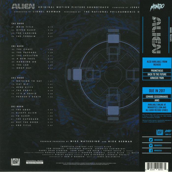 Jerry Goldsmith Alien Soundtrack Vinyl At Juno Records