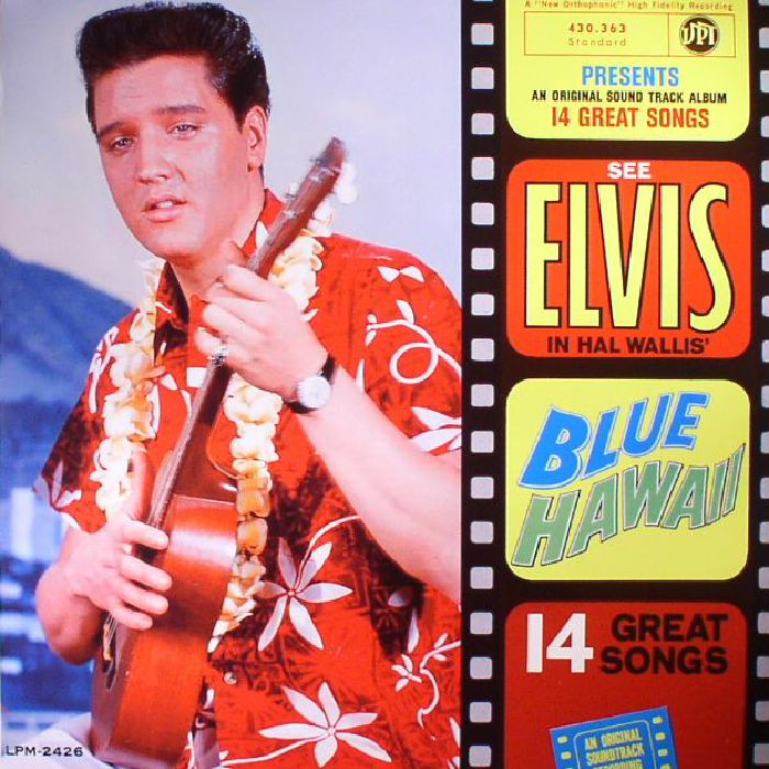 Elvis Presley Blue Hawaii Record Store Day 2017 Vinyl At