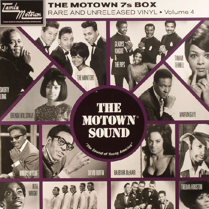 VARIOUS - The Motown 7s Box: Vol 4