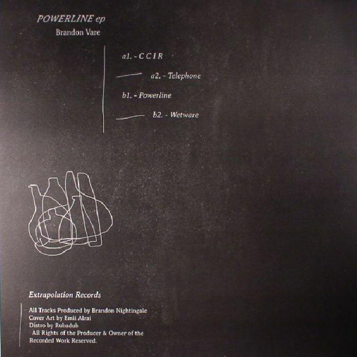 VARE, Brandon - Powerline EP