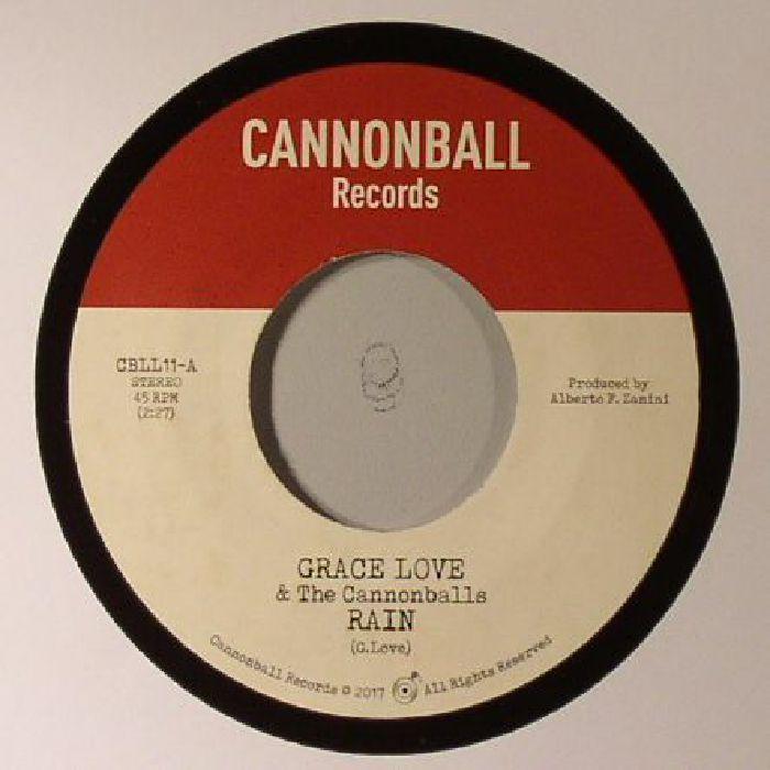 LOVE, Grace/THE CANNONBALLS/BELL SOUND STUDIOS INC - Rain