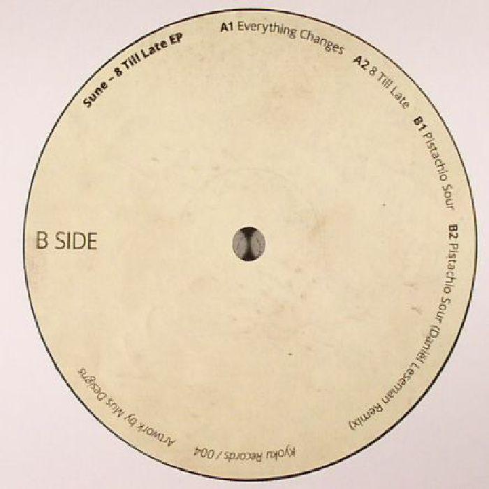 SUNE - 8 Till Late EP