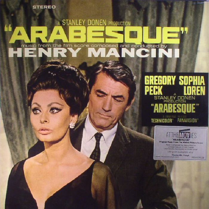 MANCINI, Henry - Arabesque (Soundtrack) (reissue)