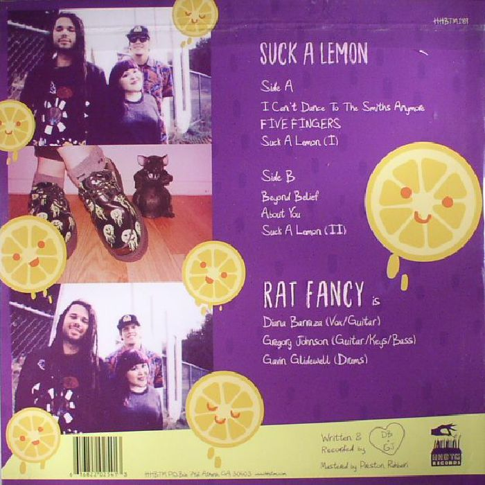 RAT FANCY - Suck A Lemon