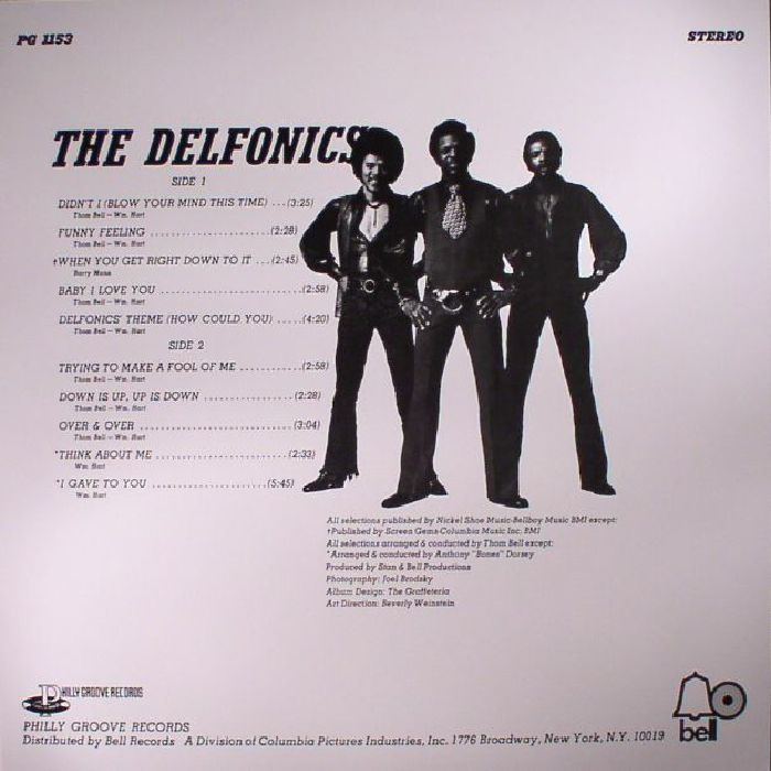 DELFONICS, The - The Delfonics (reissue)